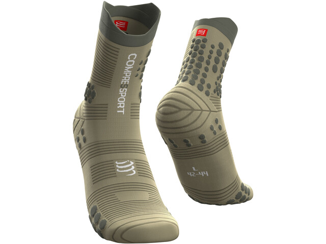 Compressport Pro Racing V3.0 Trail Chaussettes, dusty olive